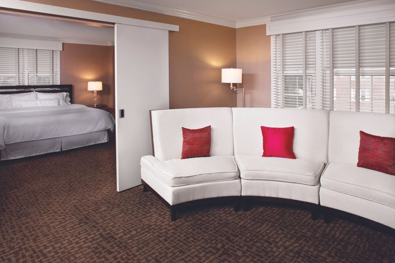 cymk king bedroom suite red pillow westin
