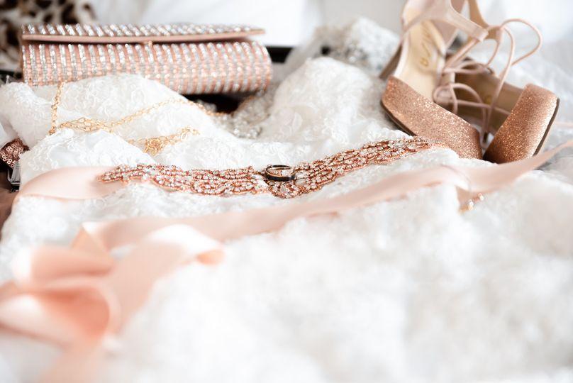 Bride Attire details