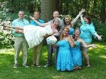 Fun group photo