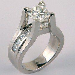 princesscutdiamondengagementringfloatingdesignchannelsetprincessshank