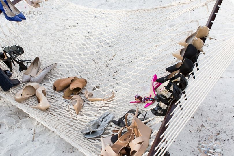 Shoes on the hammock