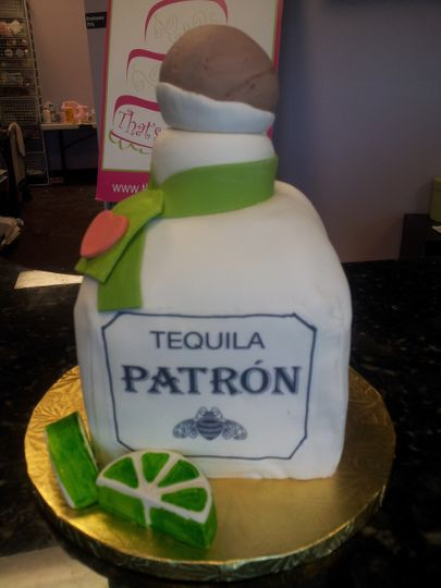 Tequila inspired cake