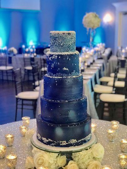 Galaxy Wedding Cake