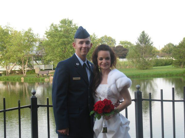 Sarah and Sean's wedding in Sept 2009.  Thank you for serving our country
