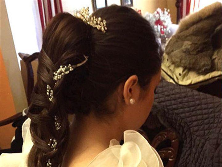 Tmx 1428361395799 Bridal Hair 0117 1 Bridalharmony Stony Brook, NY wedding beauty