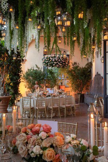 Romantic garden theme