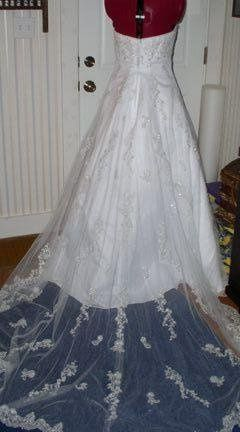 Tmx 1250294843270 CrystalBack1 Concord wedding dress