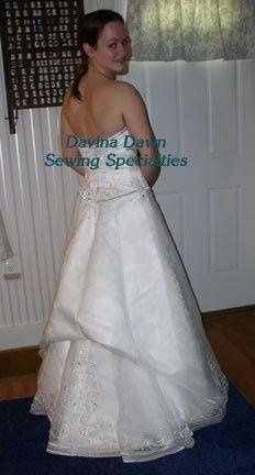 Tmx 1250294849864 1HollyBackWBustlePS Concord wedding dress