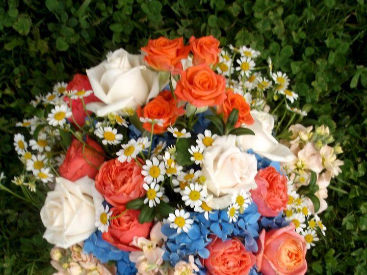 Tmx 1400751311048 Blue Orange Brid Portland wedding florist