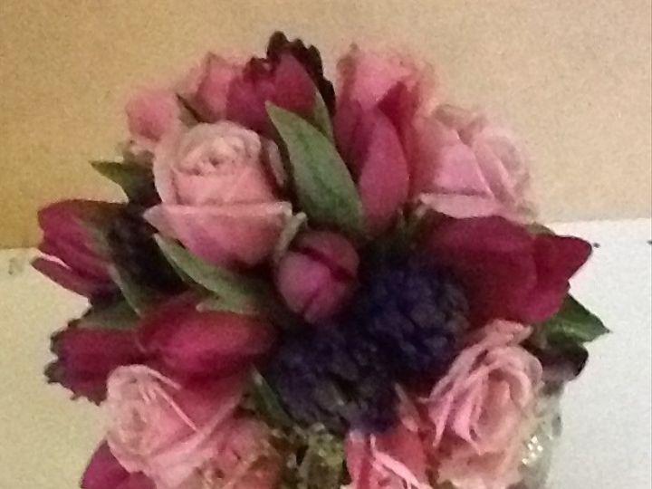 Tmx 1400753439062 Pink And Purple Sprin Portland wedding florist