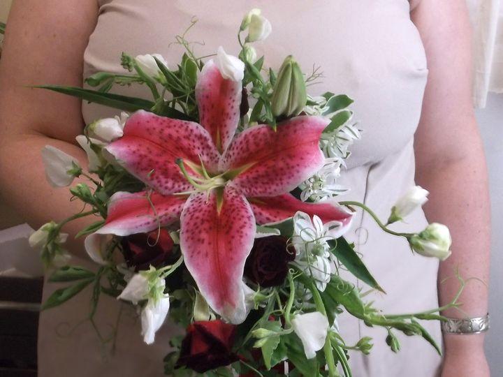 Tmx 1400753627388 Small Stargazer Bouque Portland wedding florist