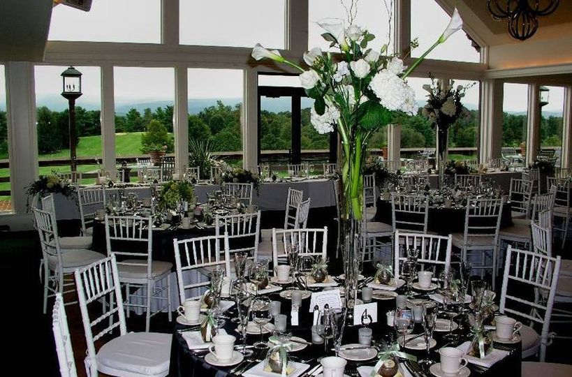Shenandoah valley golf club deals ceremony reception for Front royal wedding venues