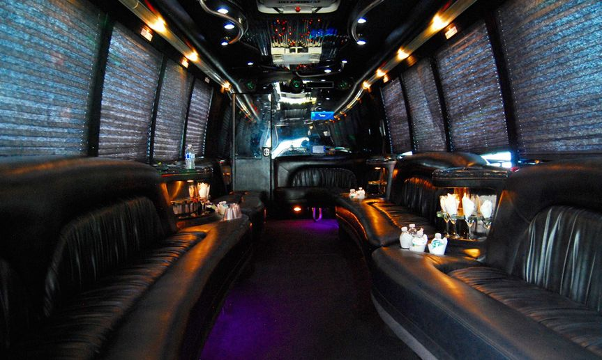 Limousine interiors and lighting