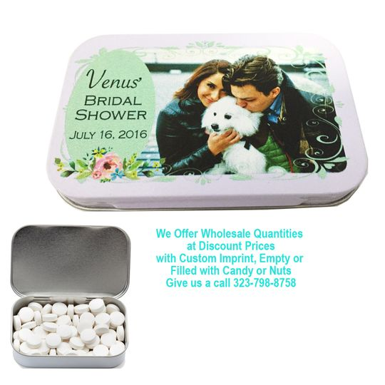 mtl white mint tin large tin mint green