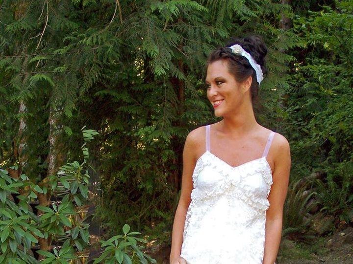Tmx 1357777419096 1002681 Rhododendron wedding dress