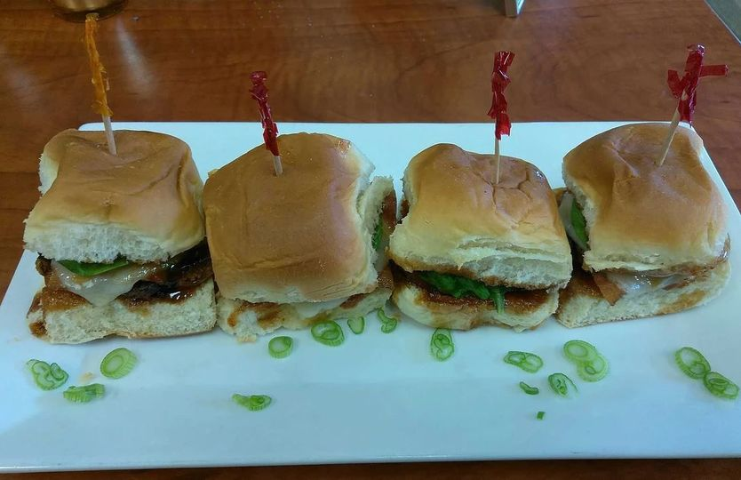 Aloha barbeque sliders
