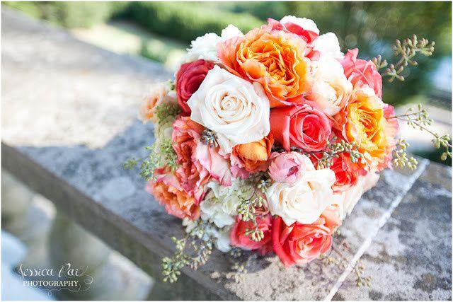 cheekwood wedding greenfinch bouquet jessica rai p