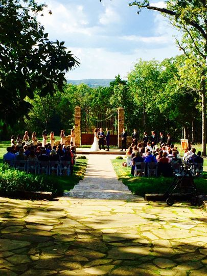 Ceremony Gates at Stone Gate Farm