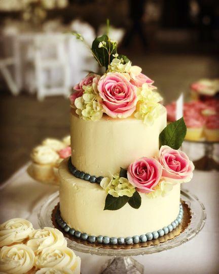 Ruthann\'s Gourmet Bakery - Wedding Cake - Bellaire, MI - WeddingWire