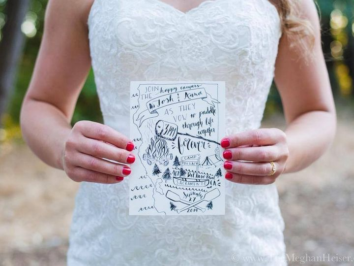 Tmx 1415488330678 Camp Bride Sacramento wedding invitation