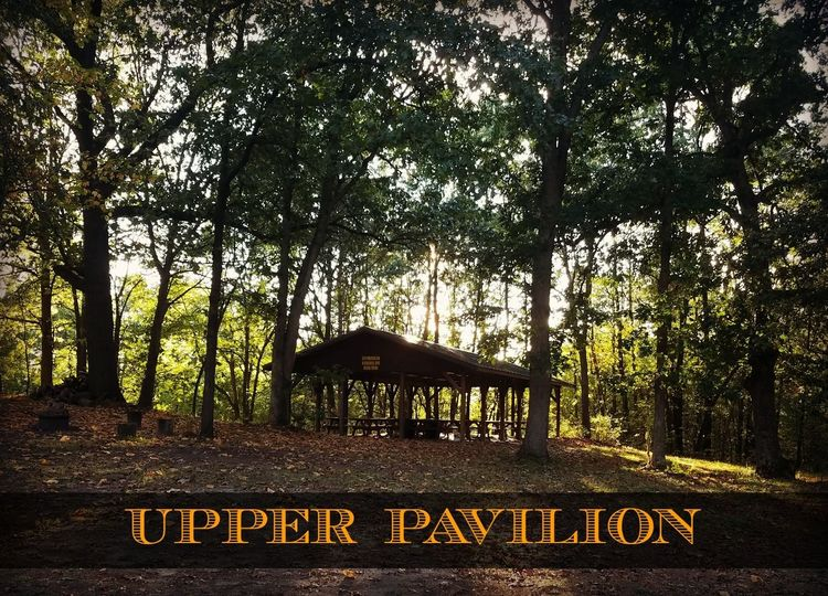 Upper Pavilion. Lighting and electricity. This pavilion is centally located with picnic tables for...