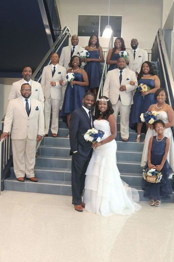The yorks bridal party