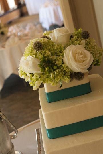 3 layared wedding cake