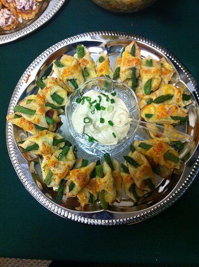Puff Pastry-Ham, Asparagus