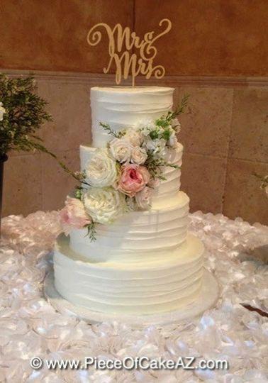 piece of cake wedding cake arizona phoenix and surrounding areas