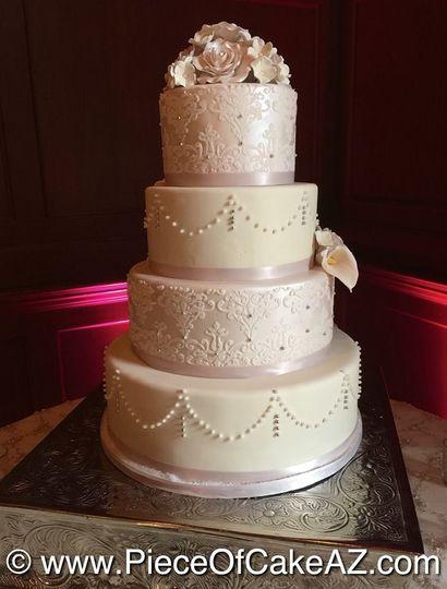 piece of cake wedding cake gilbert az weddingwire