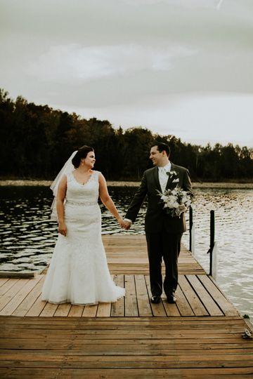 Lakeside couples portraits