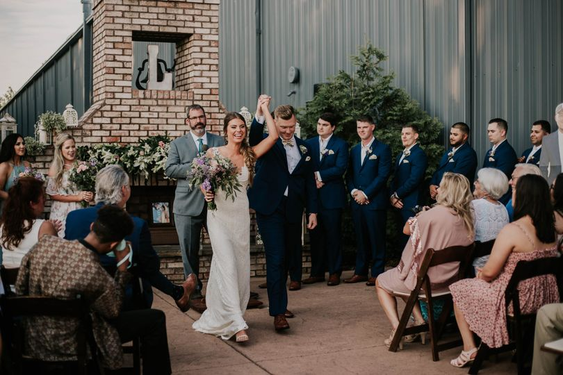 Ceremony at The Belle Hollow