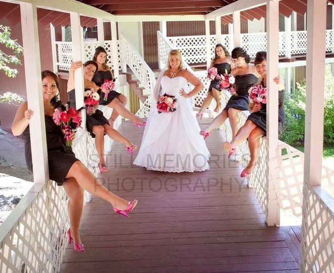 Garden Wedding with Lodging.