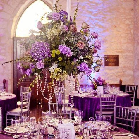 Tmx 1381524537282 Lage Purple Centerpiece Washington, DC wedding florist