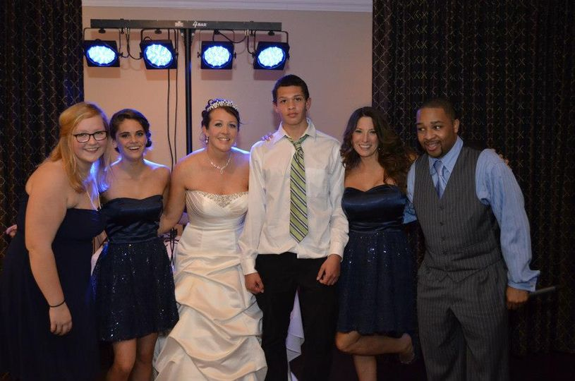 Pics with the Bridal Party