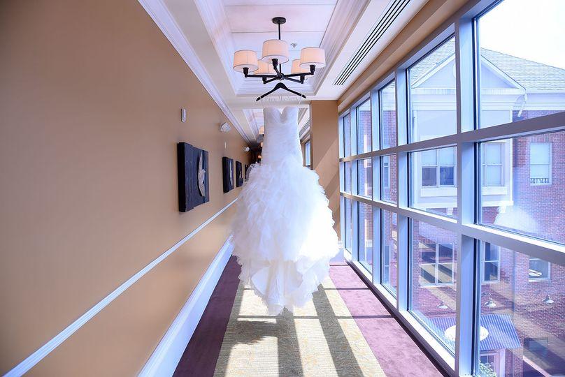 Wedding Dress at Creek Side