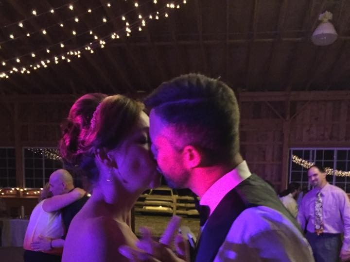 Tmx 1487638215326 Brandee And Darin Wedding Kiss   Wedding Djs New T Sciota, PA wedding dj