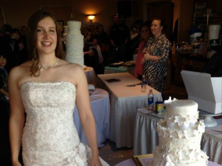 Tmx 1357334244447 WeddingExpo2012DressCake Anchorage wedding cake