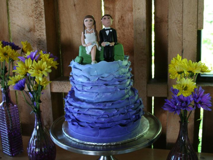 Tmx 1377386190001 Ombrecouple Anchorage wedding cake