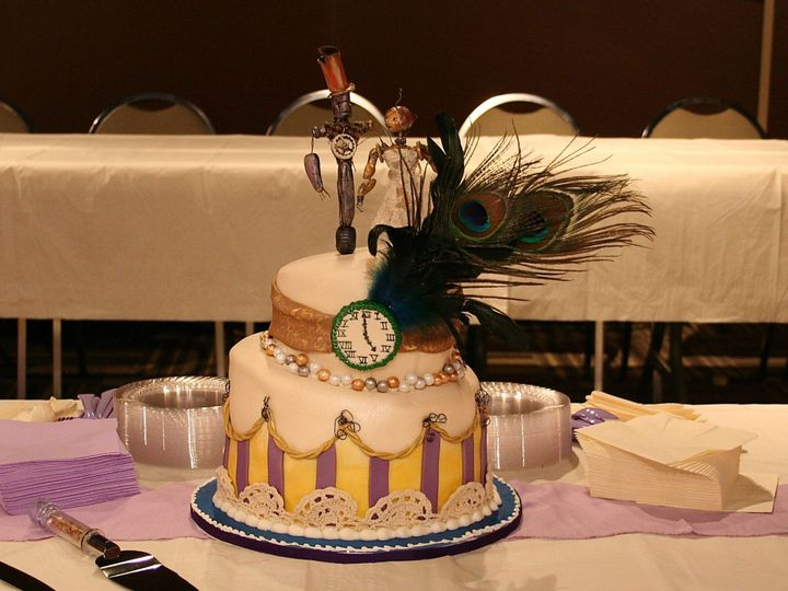 Tmx 1377386310535 Steampunkwedding13 Anchorage wedding cake