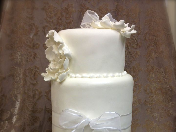 Tmx 1377386406470 Tallfondant Anchorage wedding cake