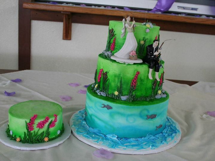 Tmx 1377386857587 Fishingdonya Anchorage wedding cake