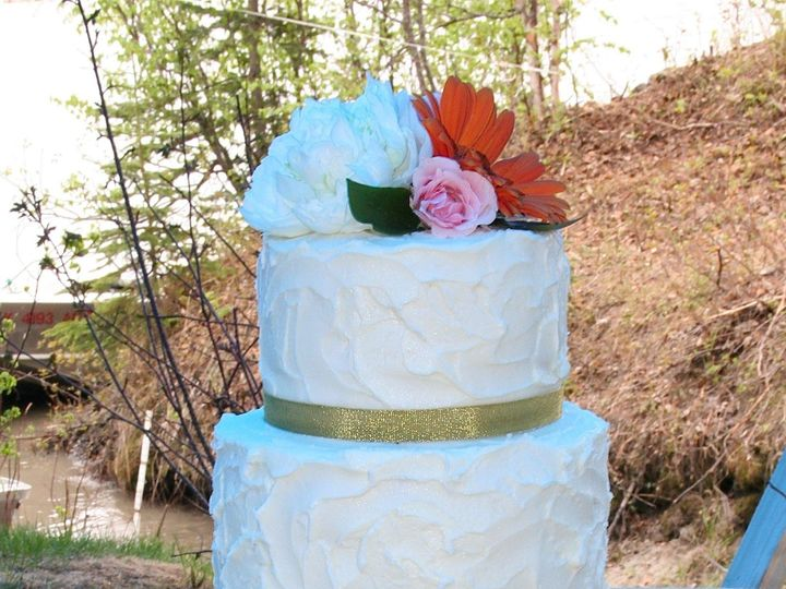 Tmx 1377386970784 Morganjustin2 Anchorage wedding cake