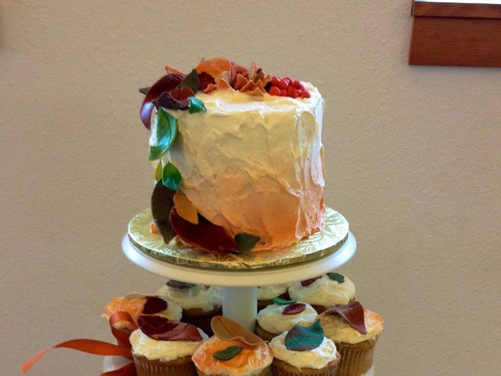 Tmx 1387522210347 Fallcupcake Anchorage wedding cake
