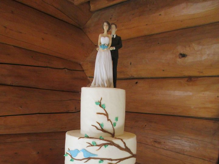 Tmx 1447882994340 Thrtrtreebrnchbrds15 Anchorage wedding cake