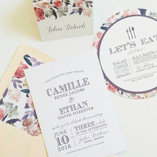 Lola Lee Invitations