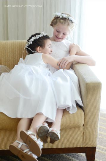 Flower Girls Giggle at the Hilton Key Largo