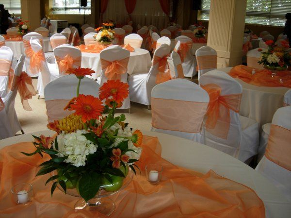 Wedding reception at the fairview club