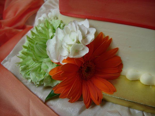 Close-up of decorated cake