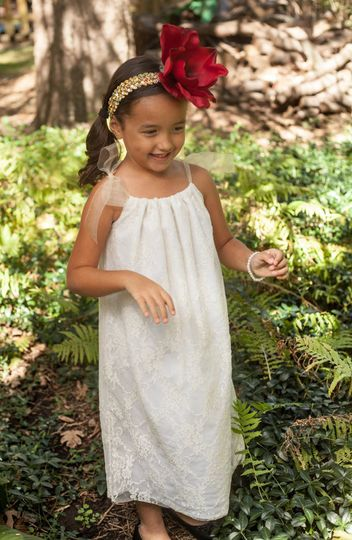 You will love this sweet lace style!  It's a soft flowy lace with a cotton lining.  It has a softly...